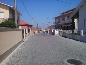 Auch Asphalt-Abschnitte gehören dazu: Heute von O Porrino nach Redondela