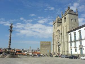 Porto - Lavra: 1. Etappe des Camino Portugues