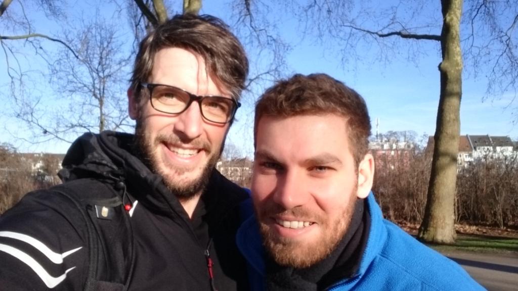 Camino Portugues-erfahrene: Dom und Chris