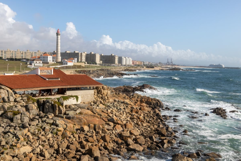 Aus Porto heraus auf dem Camino Portugues